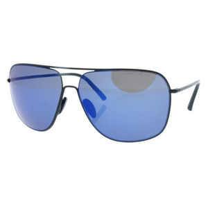 Porsche P 8607 A Black/Blue Sunglasses ODU